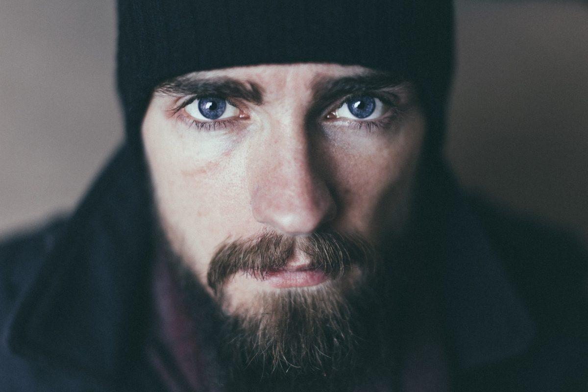 La barba con más vello en el mentón da el efecto óptico de una cara ovalada