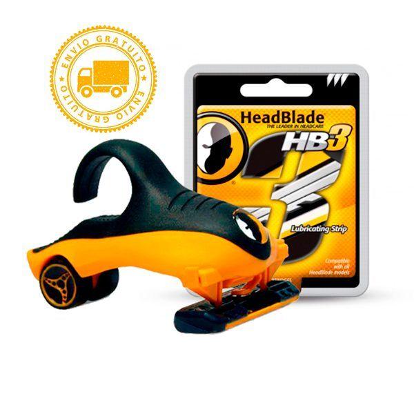 Kit de afeitado HeadBlade Sport + HB3 perfecto para tu iniciación en el afeitado de tu cabeza